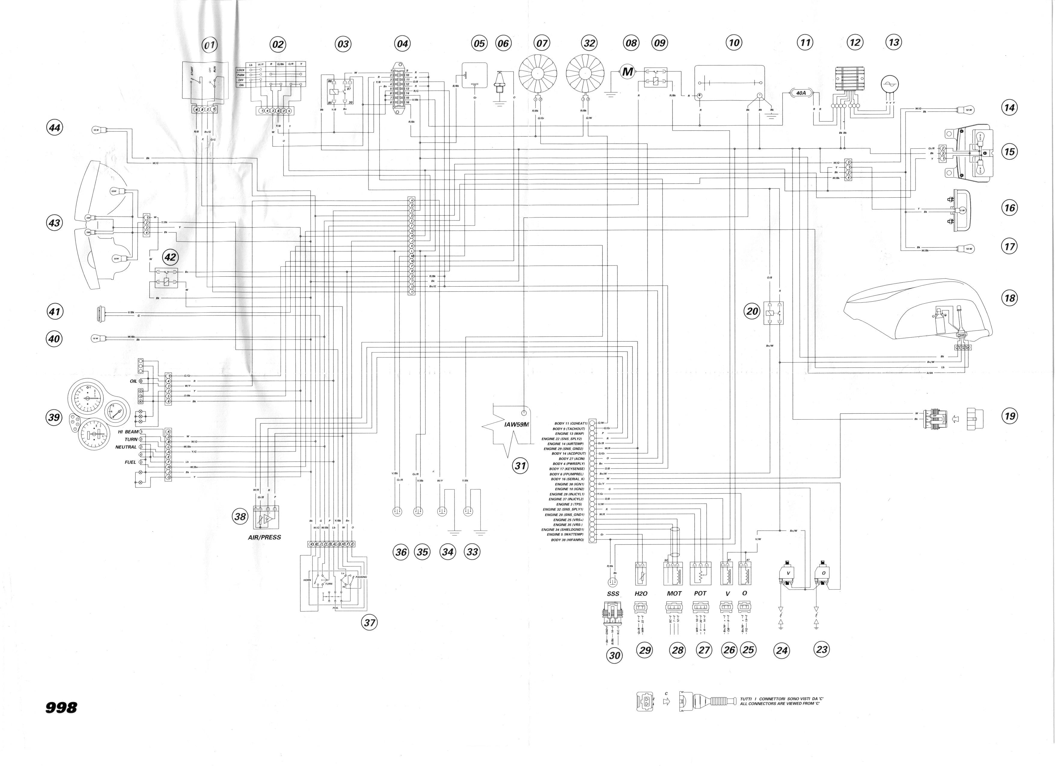 ducati 749 wiring diagram   25 wiring diagram images
