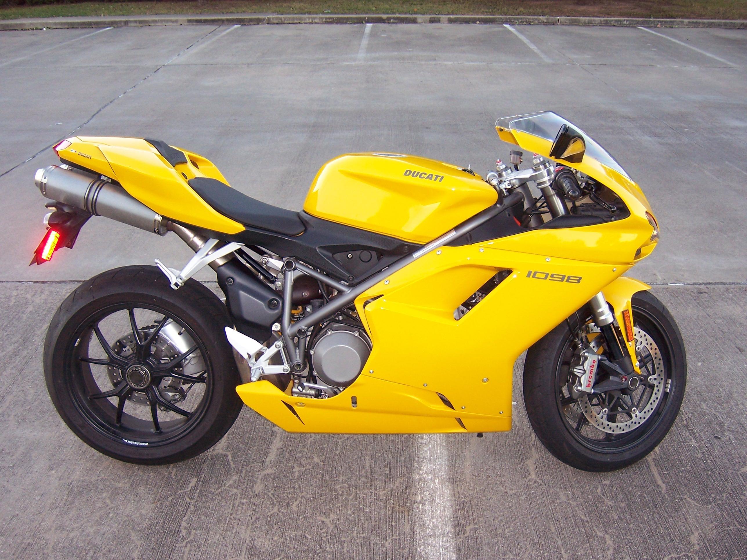 2008 Ducati 1098 Rare Yellow! Low Miles! - ducati.org forum | the ...