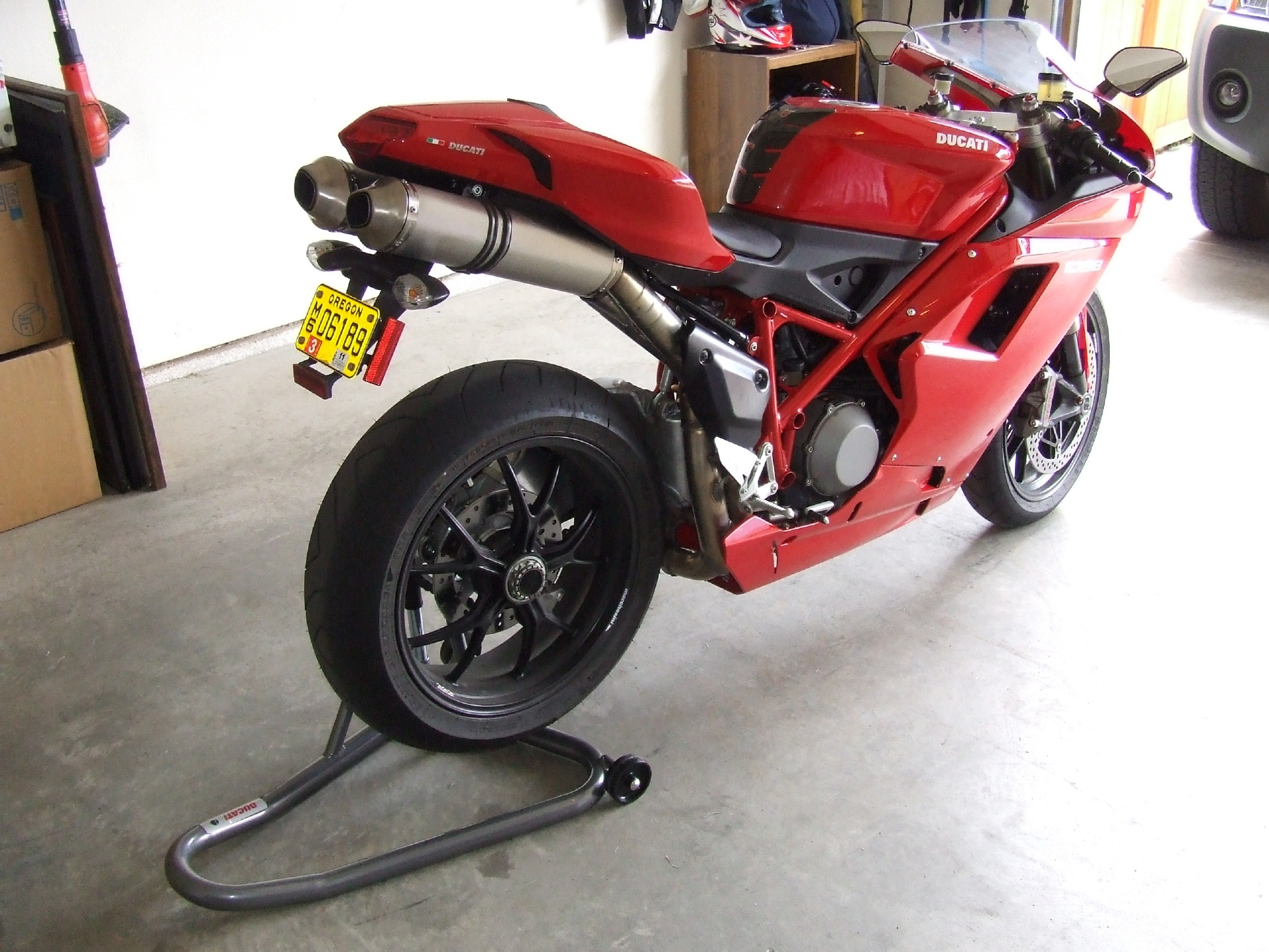 got my pitbull stand today - ducati forum | the home for