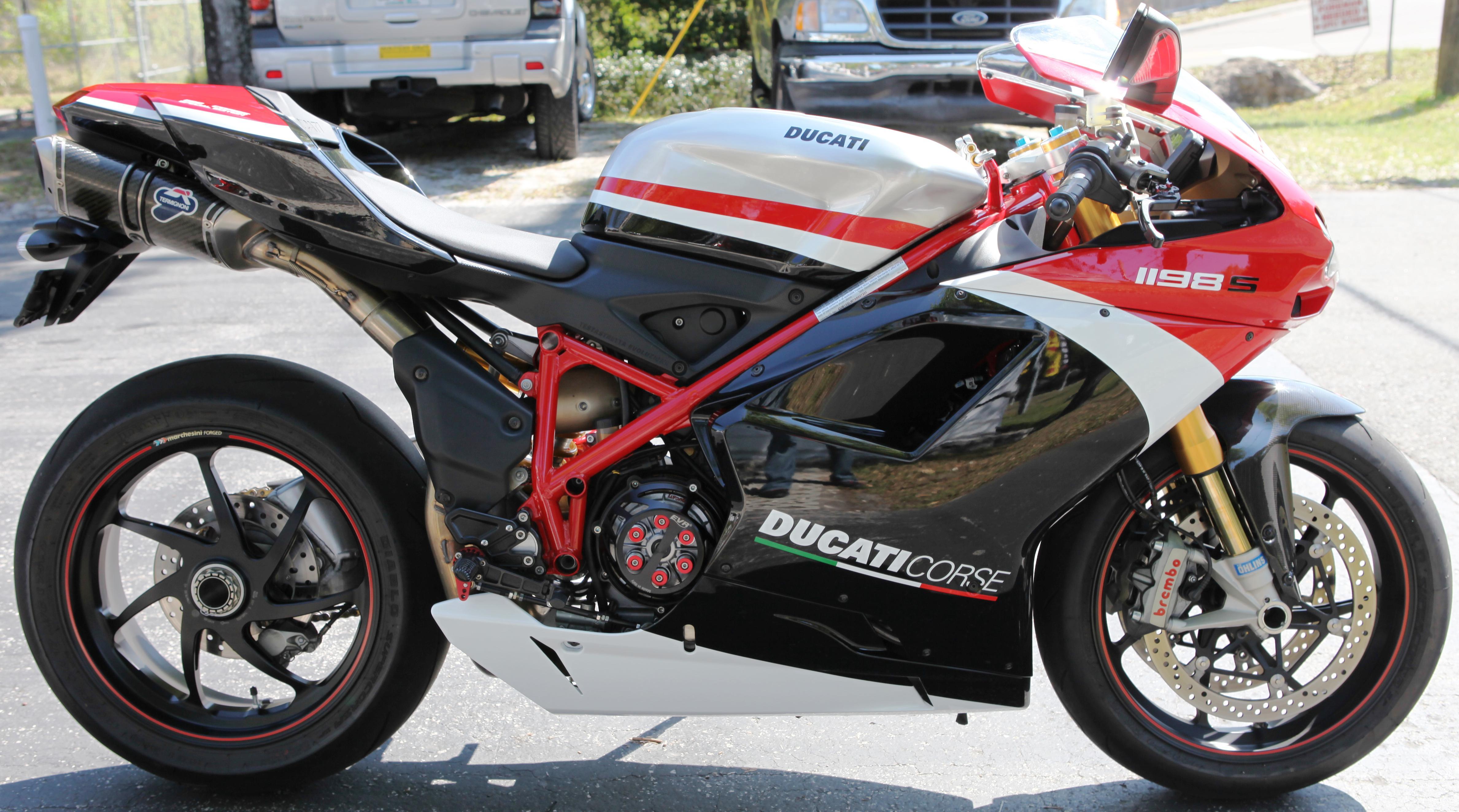 2010 ducati 1198s corse special edition for sale - ducati
