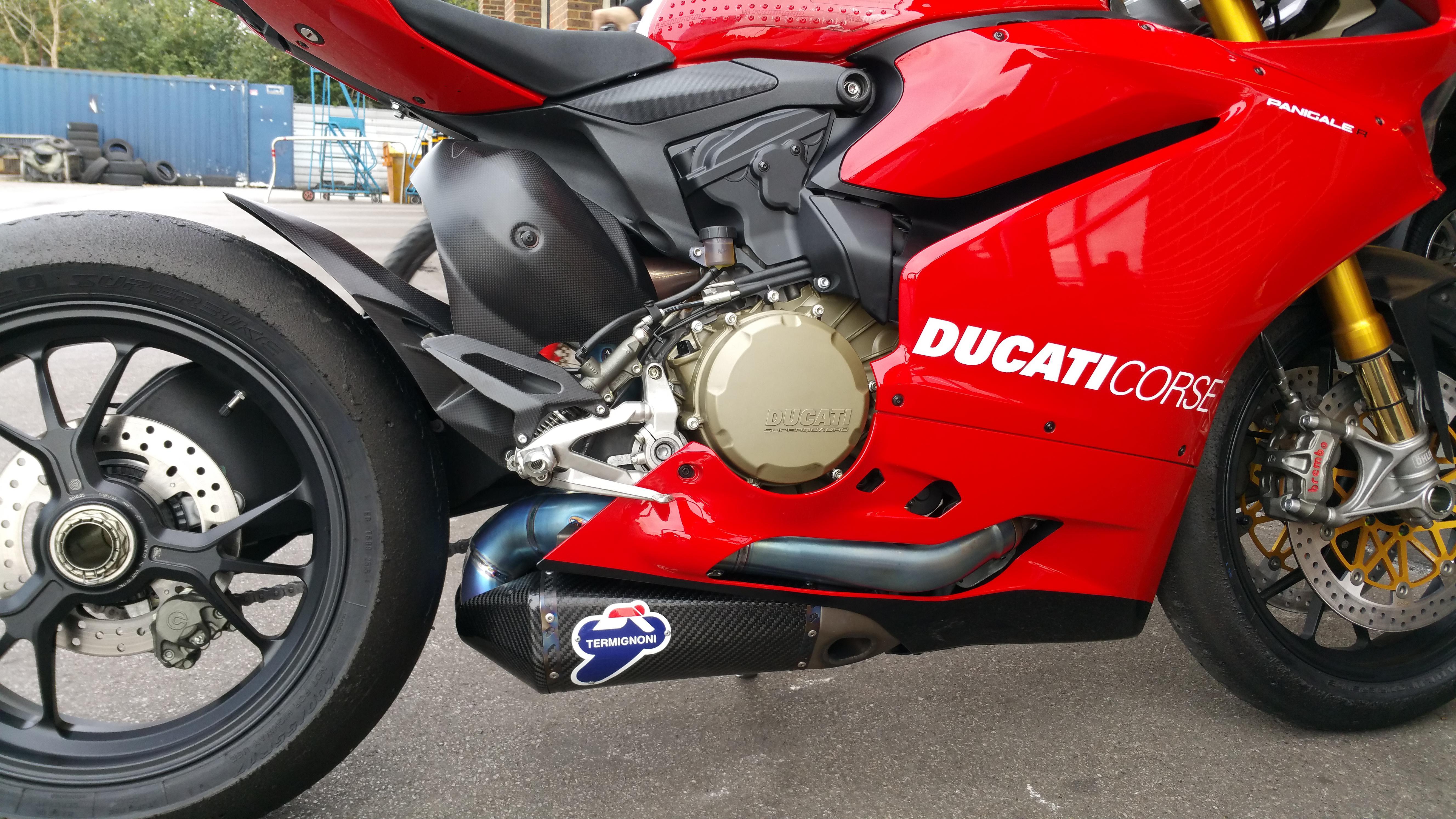 Ducati   Termignoni Exhaust Full Cost