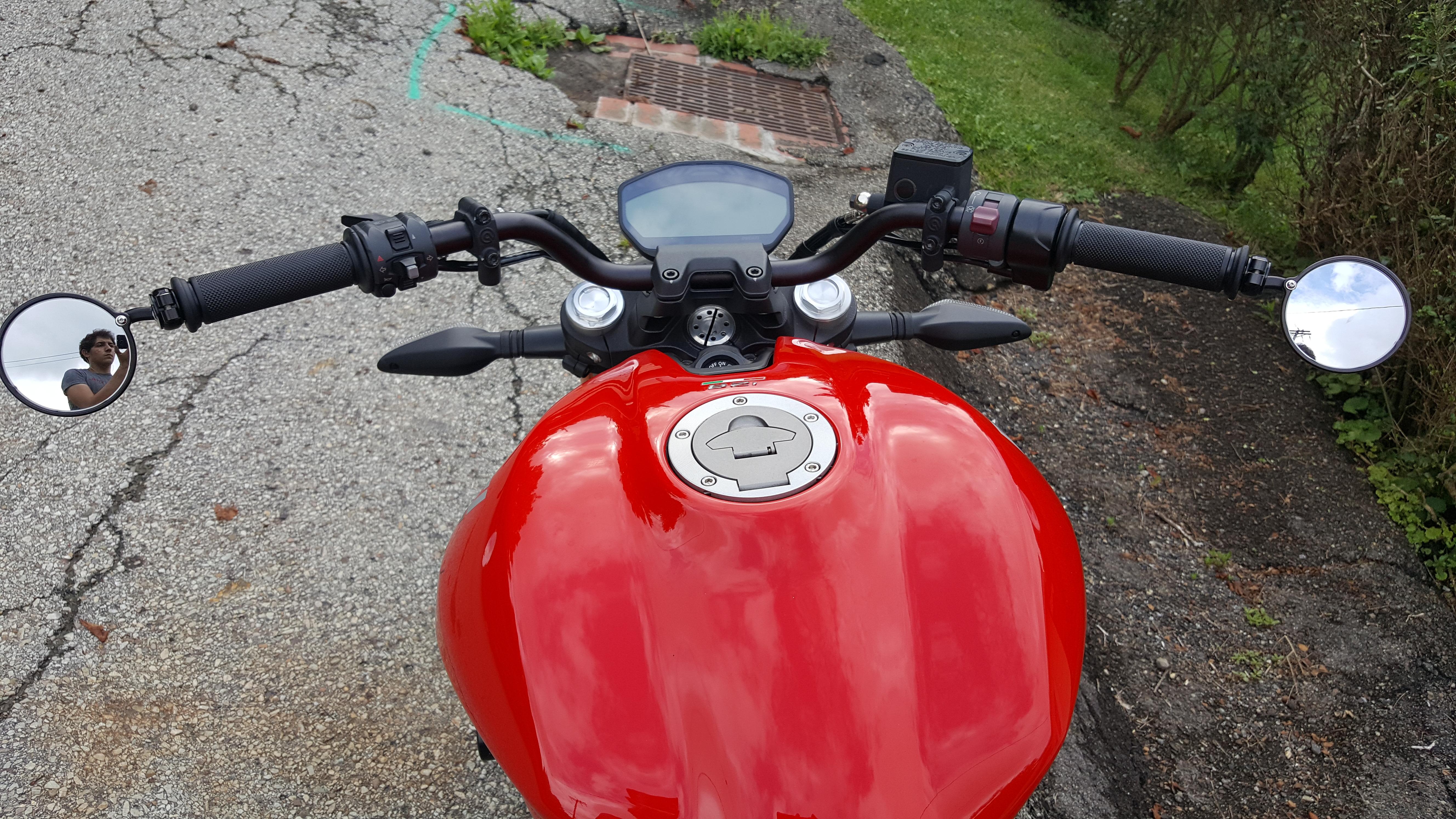 Ducati Scrambler Drag Bars