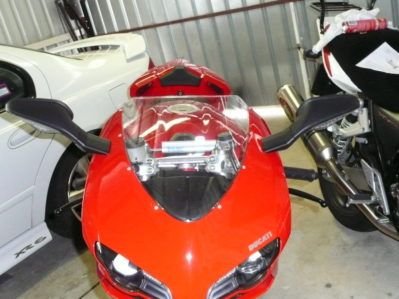 Solution to THE Mirror Problem: Oberon 50mm extenders - ducati.org