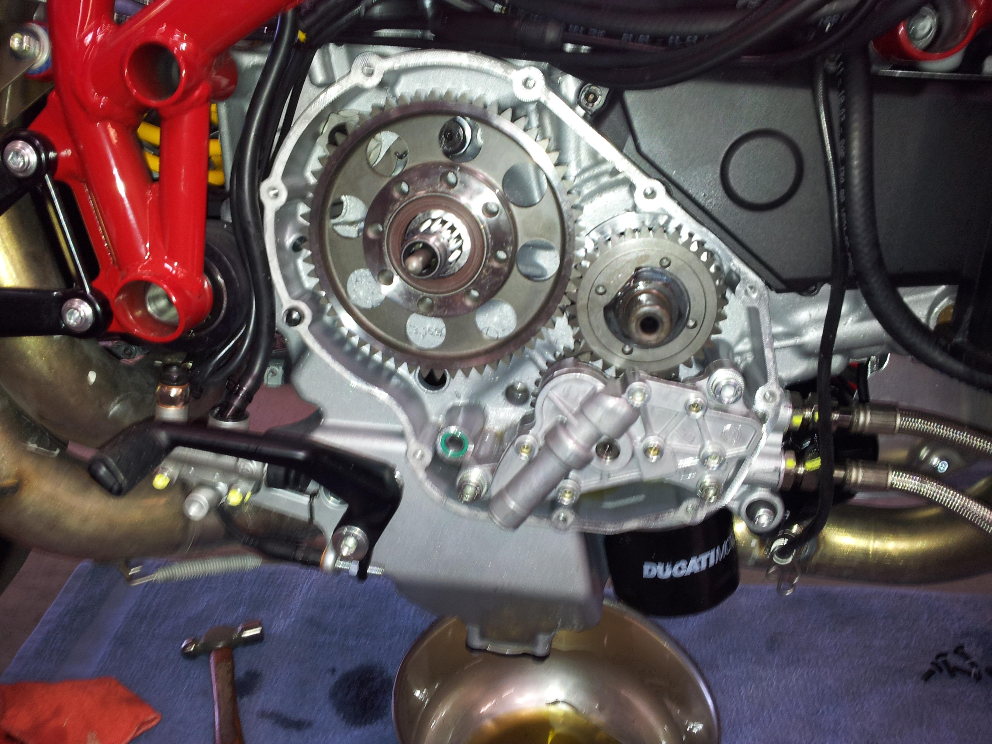 evo corse 848 with dry clutch conversion. - ducati forum