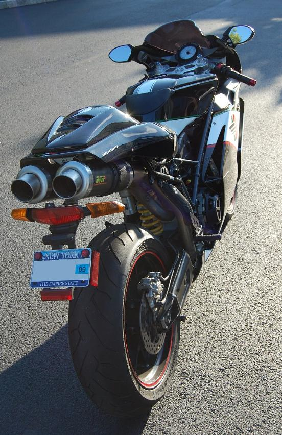 loudest exhaust for a 749? - ducati forum   the home for