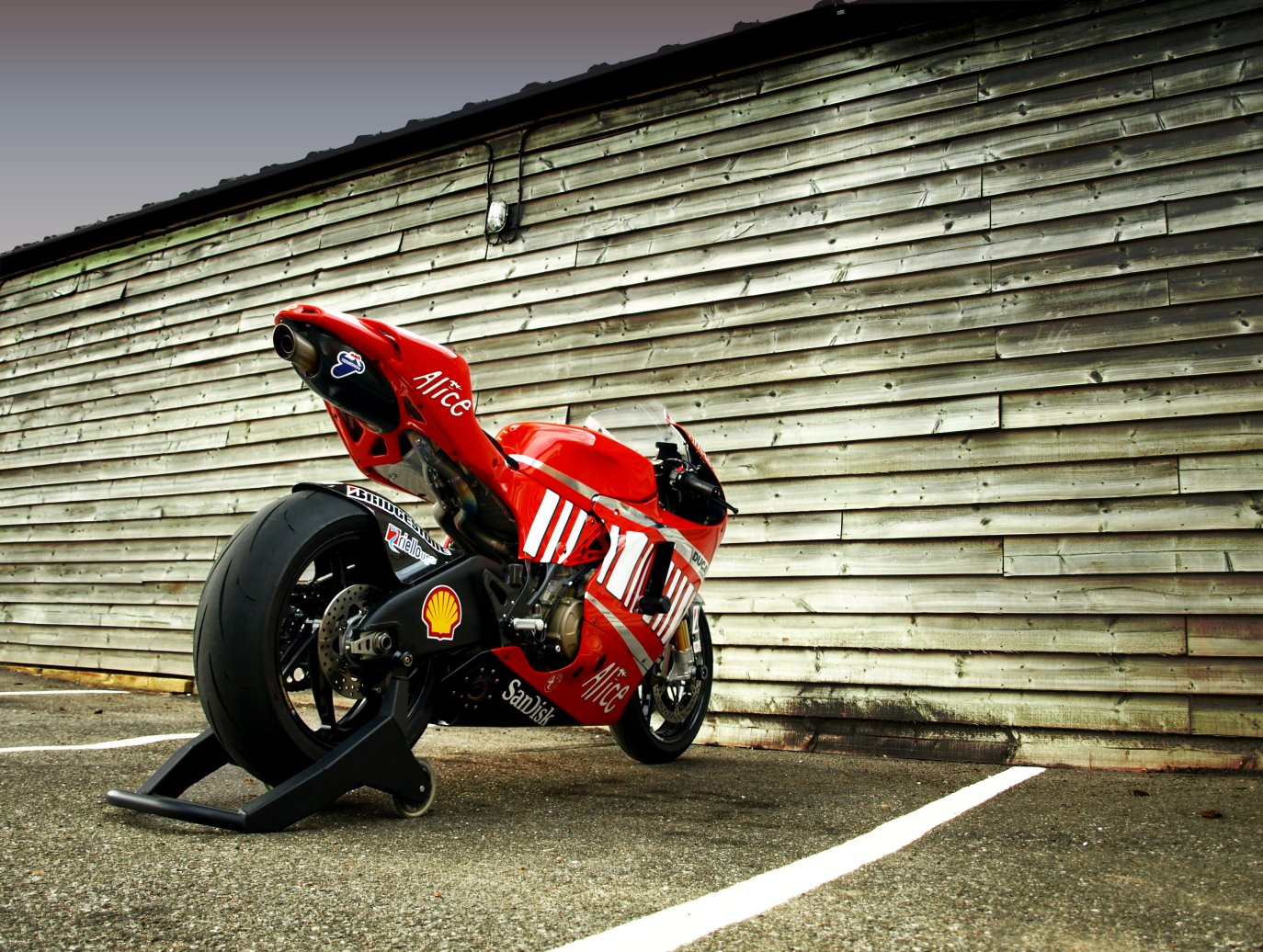 d16rr - just how loud is the gp7 exhaust? - ducati forum   the