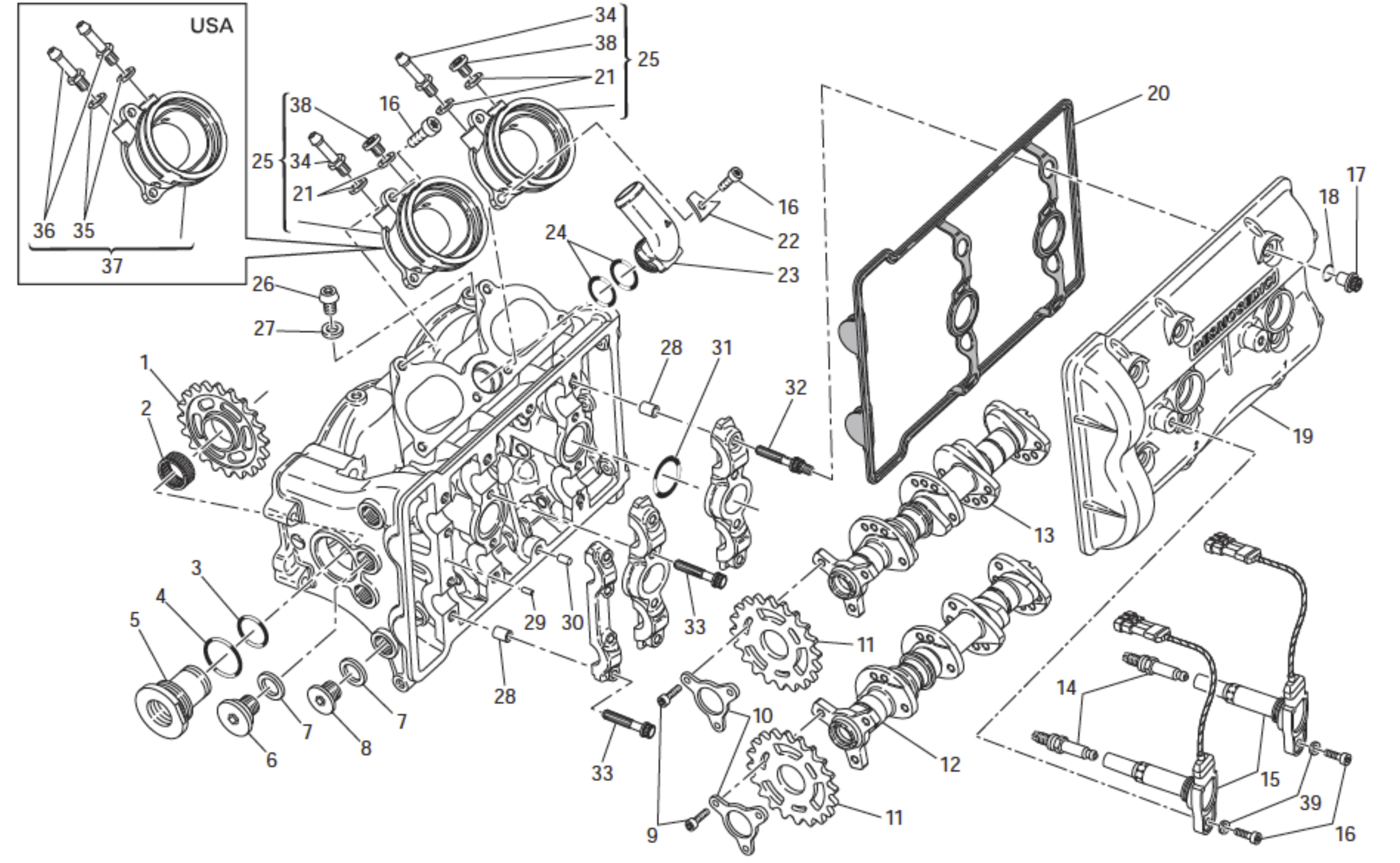desmosedici replica bike build page 9 ducati org forum the rh ducati org Honda D15 Engine Honda Engine Diagram