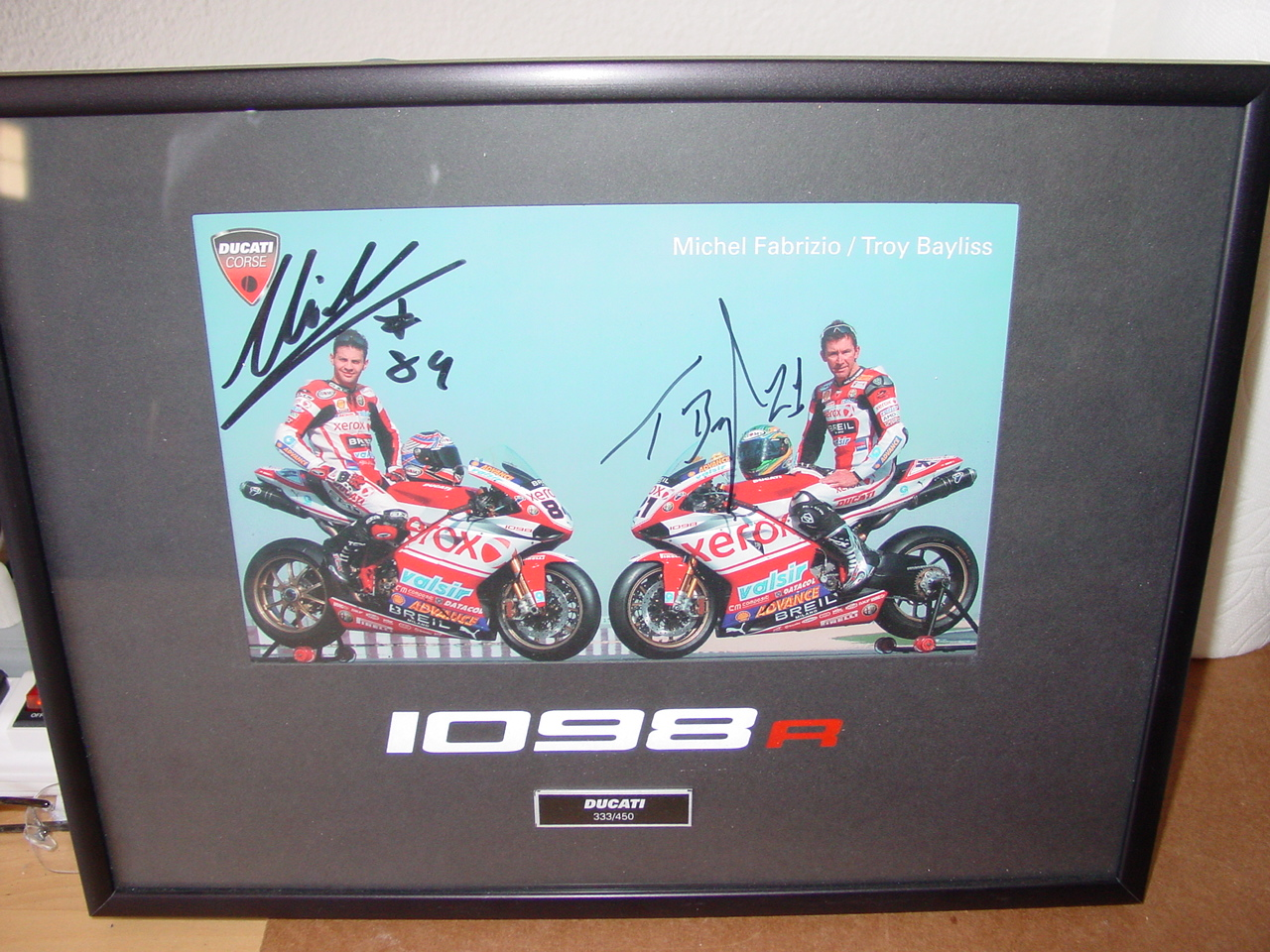 2008 Ducati 1098r  333  450 Super Bike F  S