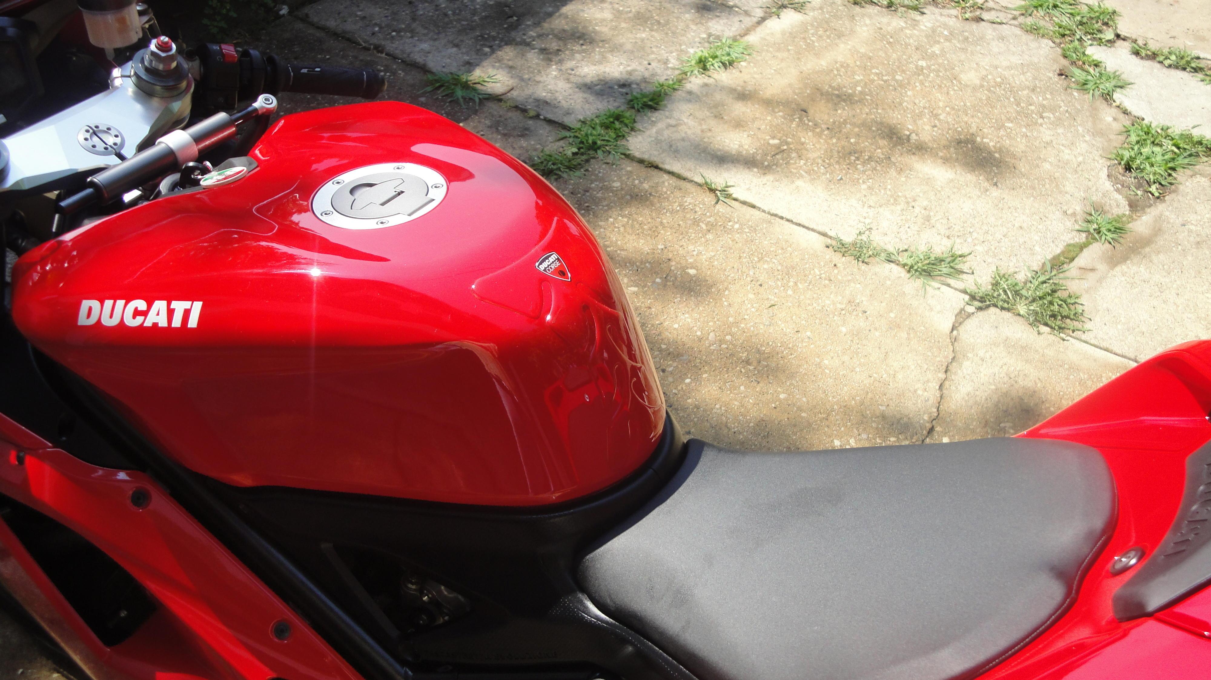 Ducati Tank Pad Clear