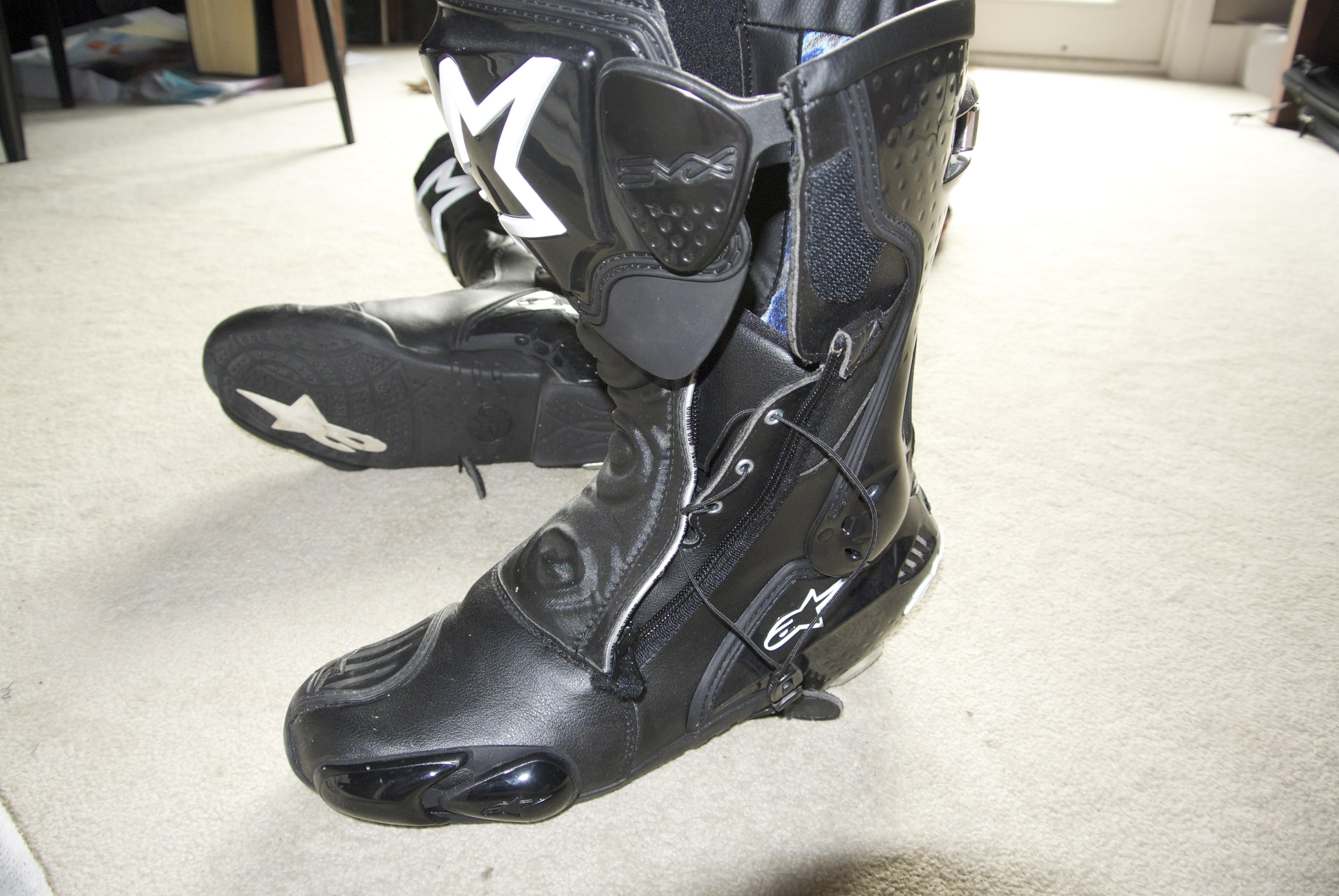 alpinestar smx plus boots size 44 black forum the home for ducati owners and. Black Bedroom Furniture Sets. Home Design Ideas
