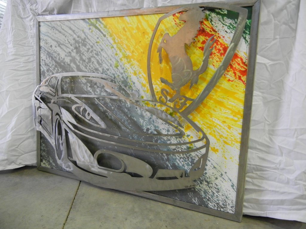 FS: Custom Ferrari Metal Artwork - ducati.org forum | the home for ...