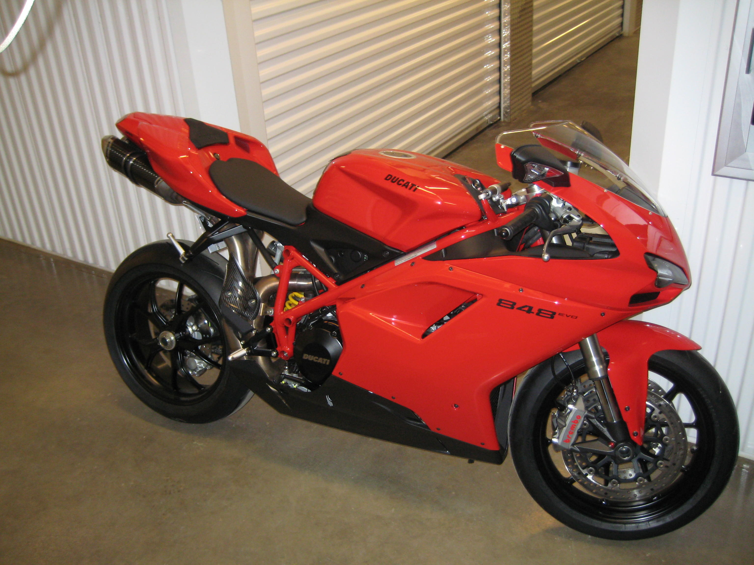 For Sale: 2011 Ducati 848 Evo with Full Termignoni (70miles on bike