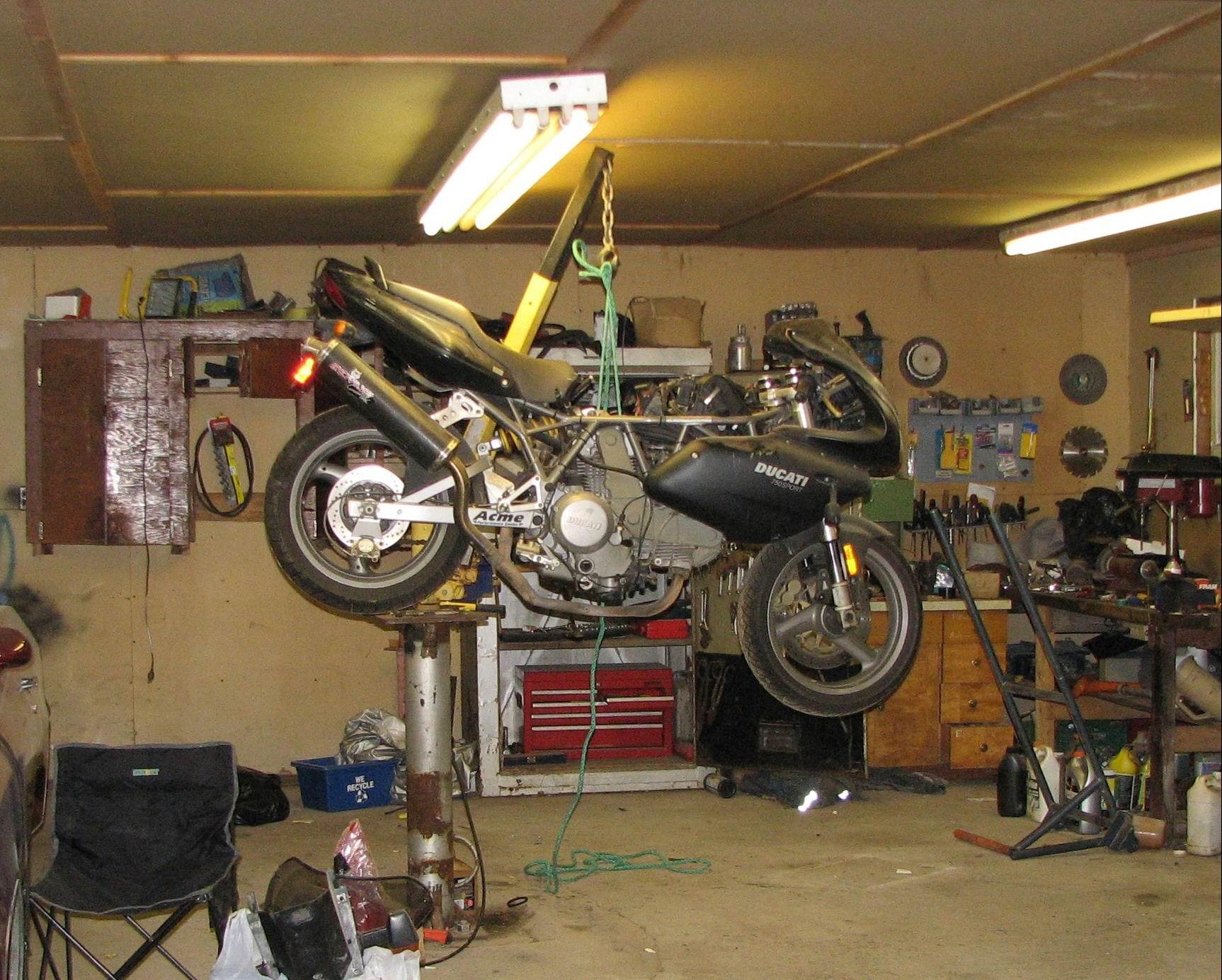 Redneck Engineering Vs Bush Mechanics Ducati Org Forum