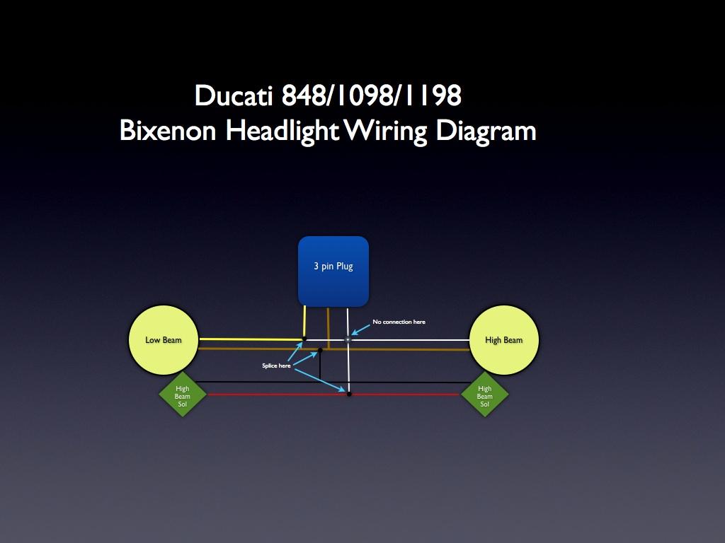 Ducati 848 Headlight Wiring Wiring Diagrams Schematics Xenon Headlights  Demonstration Bi Xenon Headlight Wiring Diagram