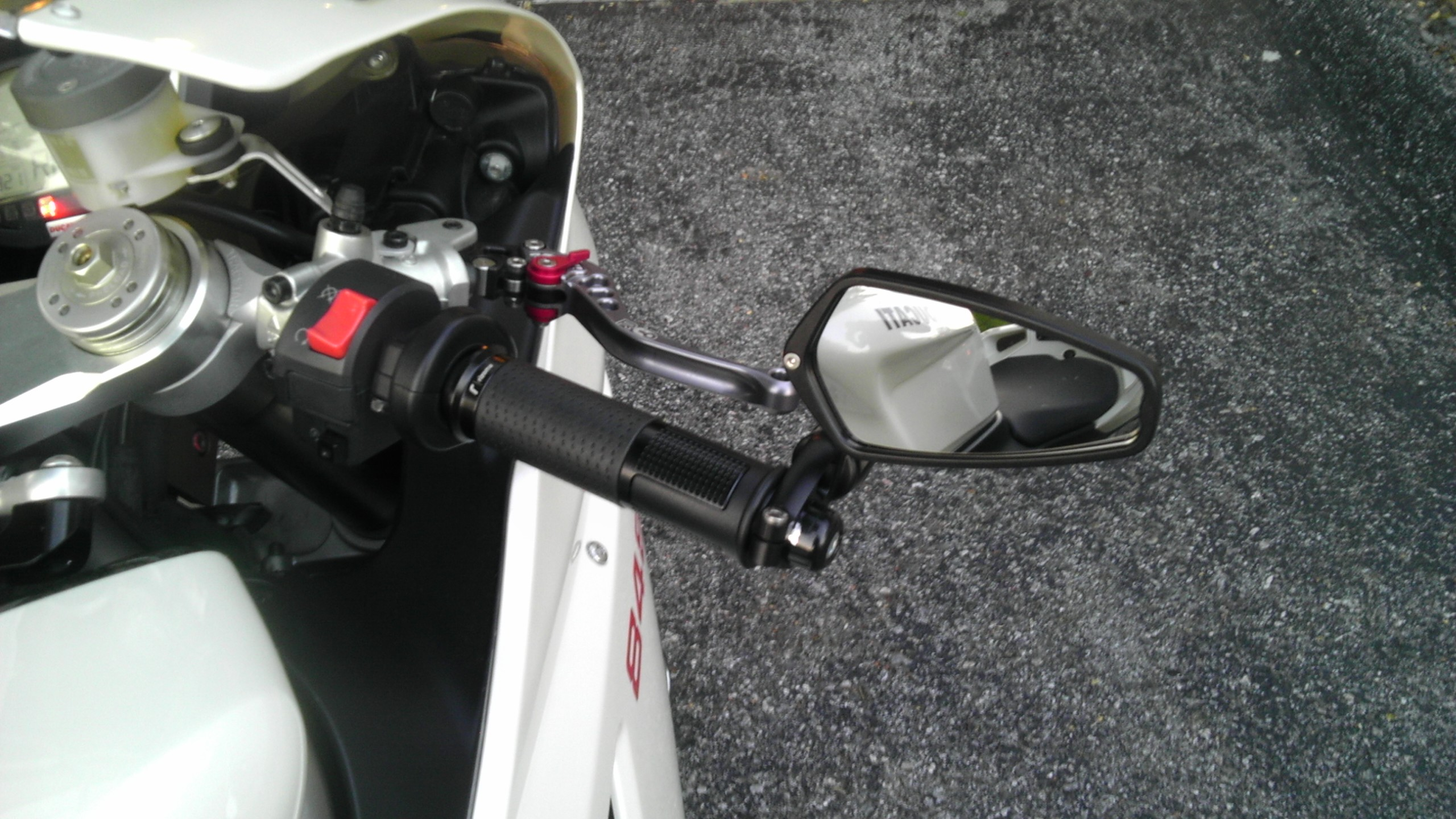 Ducati Mirrors With Indicators