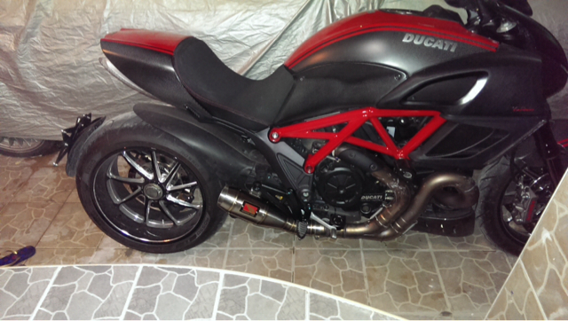 diavel aftermarket exhaust - ducati forum | the home for