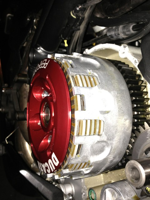 848 wet slipper install, need help! - ducati forum | the home