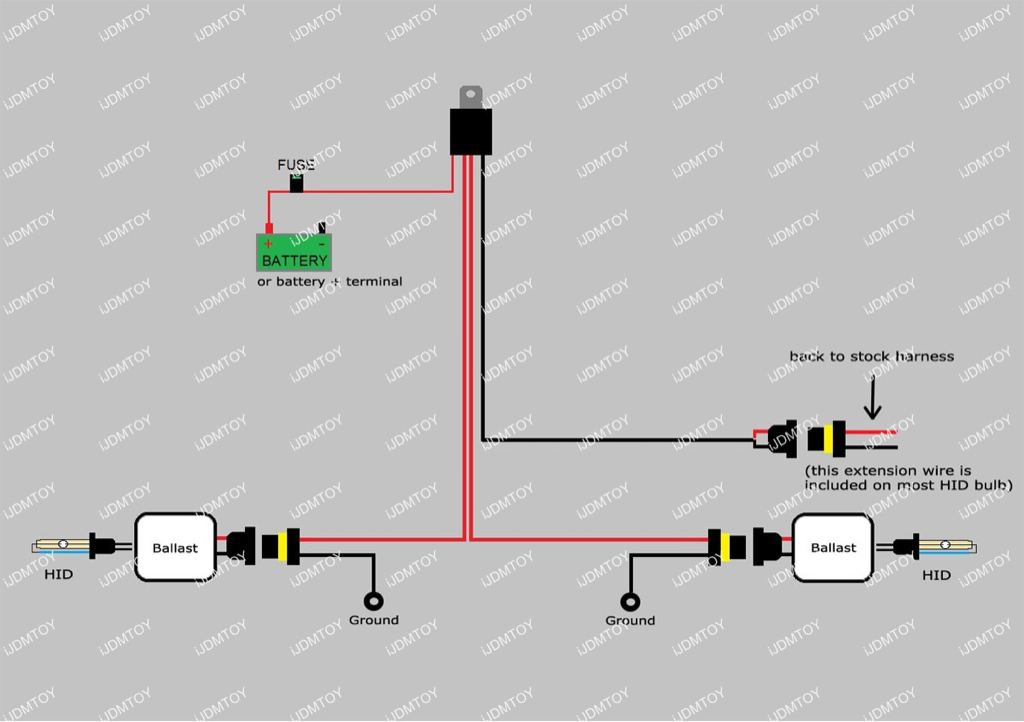 minimoto hid bixenon install page 7 ducati org forum the home rh ducati org Light Switch Wiring Diagram Simple Wiring Diagrams