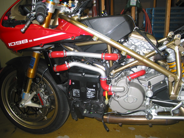 DP cooling hose kit install ducatiorg forum the home for ducati