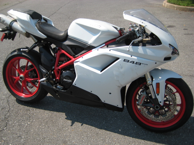 FS: 2011 848 EVO with 300 MILES! - CHEAP SALVAGE - ducati.org forum