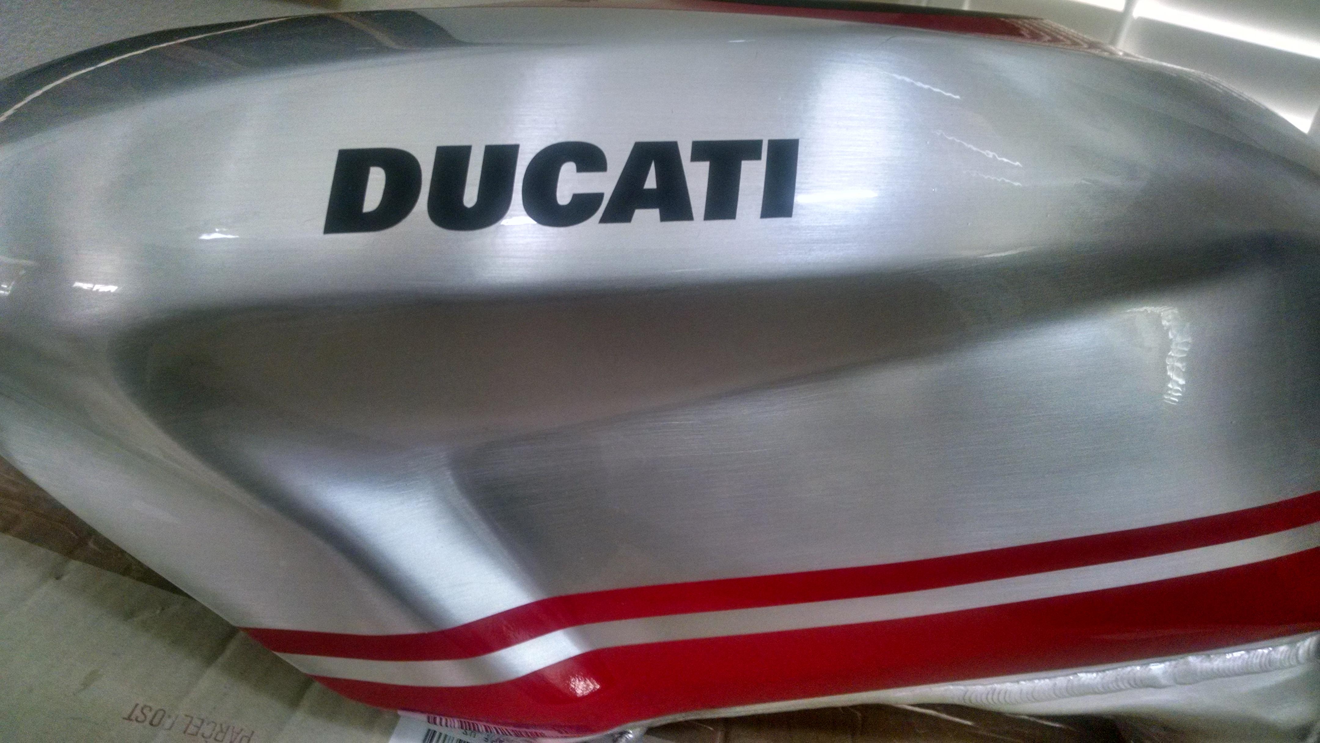 Ducati   Tank Expansion
