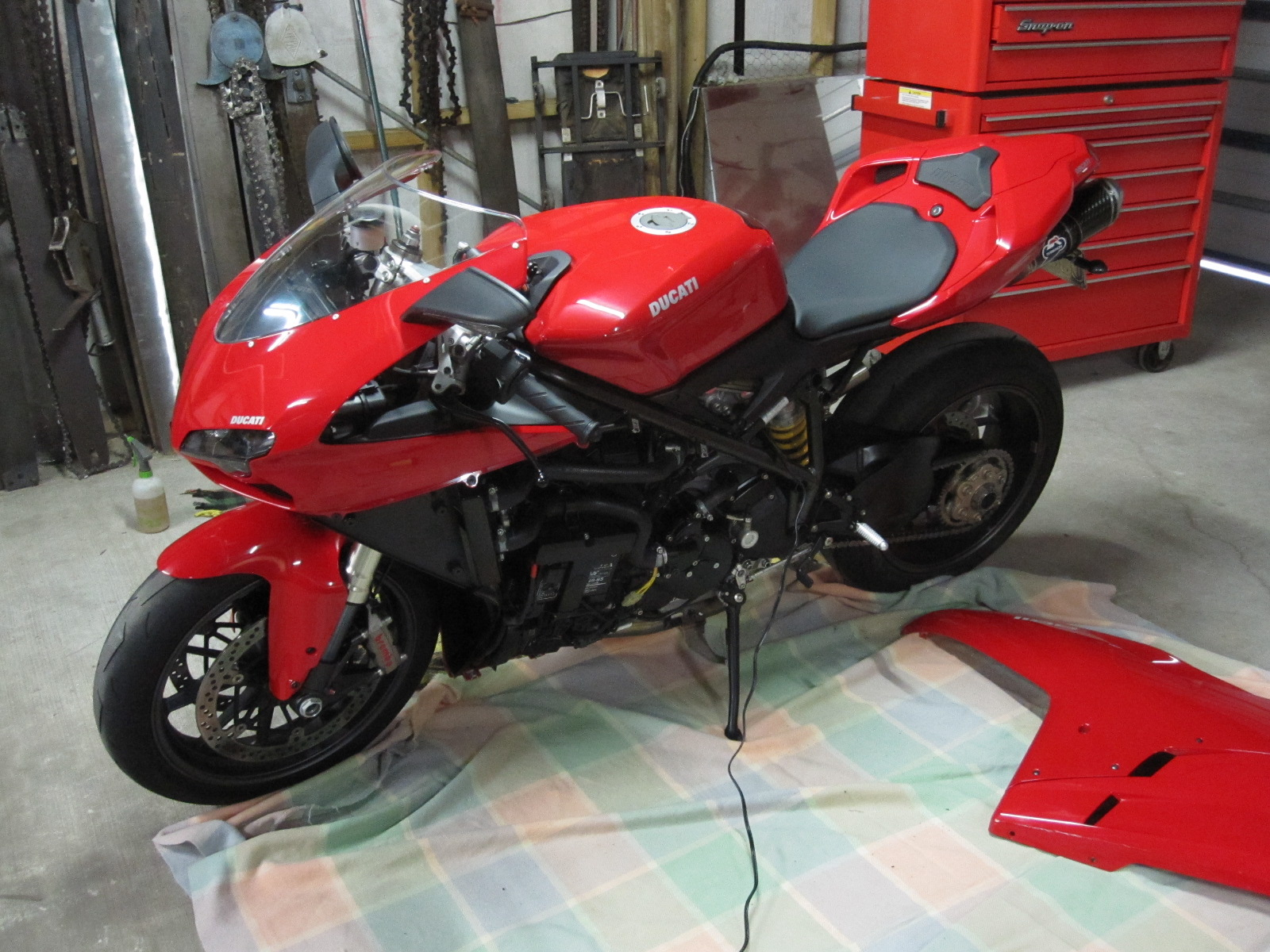 charging my battery - ducati forum   the home for ducati