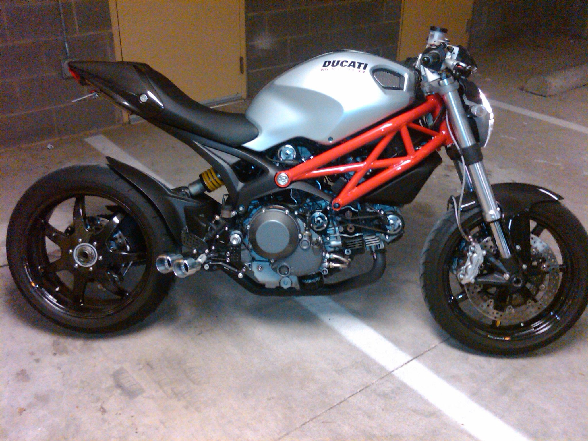 My Monster 1100 Almost Complete Ducatiorg Forum The Home For