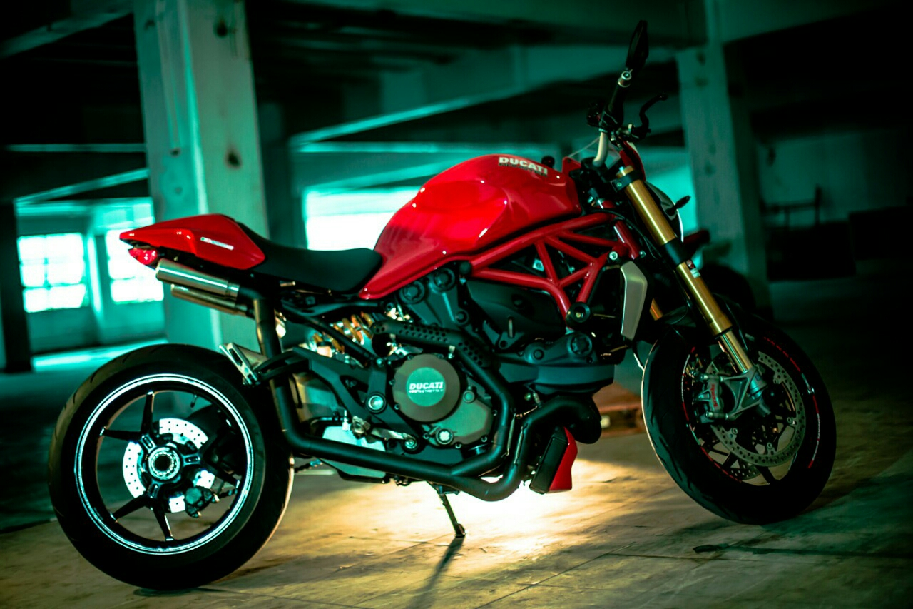 Monster 1200s Custom Exhaust Ducati Org Forum The Home