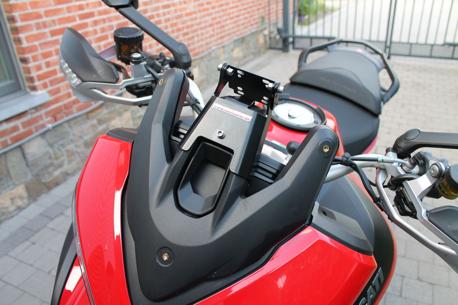 Gps Mount For 2015 Multistrada Ducati Ms The Ultimate