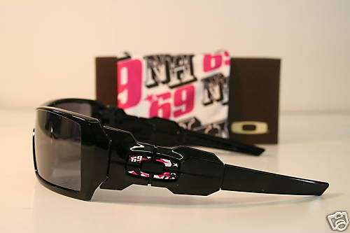Custom Oakley Oil Rigs