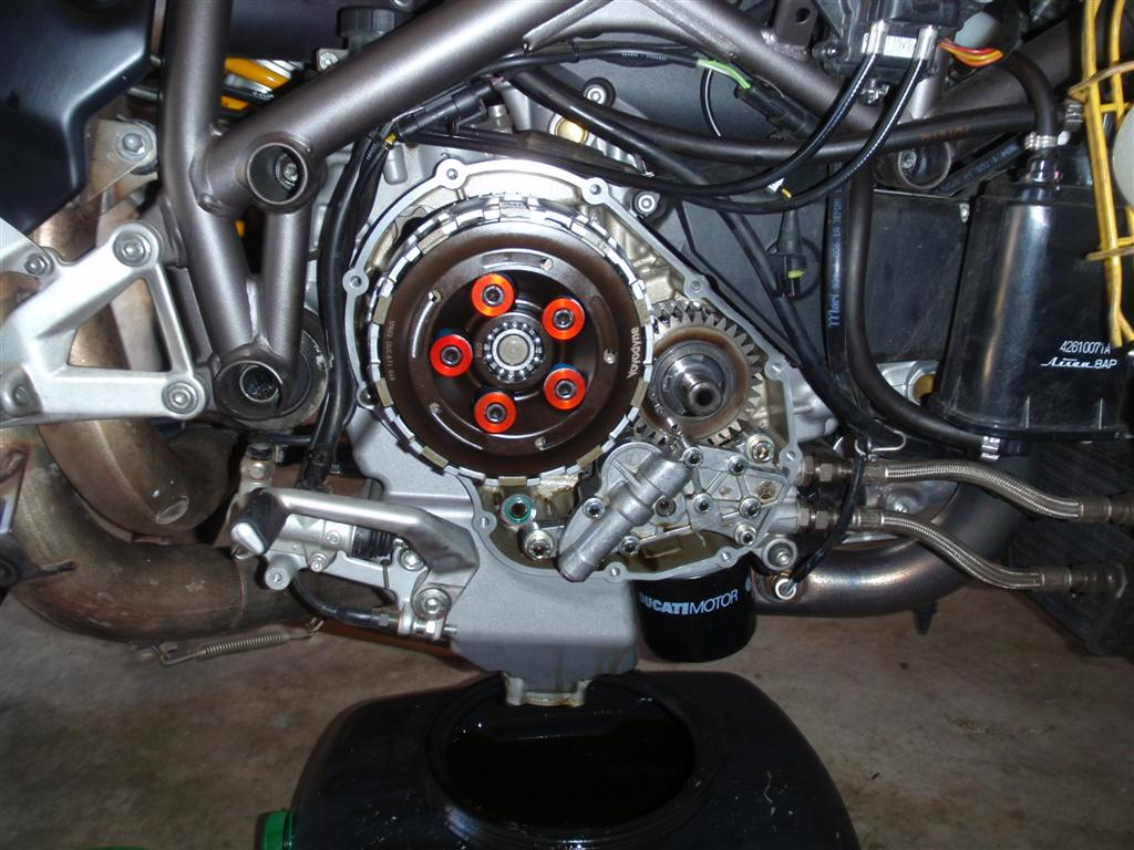 yoyodyne 848 wet slipper clutch - ducati forum | the home for