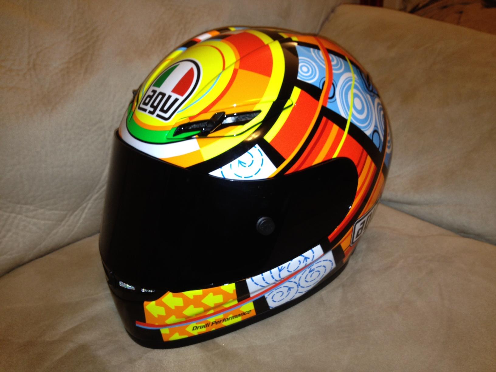 Fs Agv Gp Tech Rossi Elements Replica Helmet Ducati Org Forum