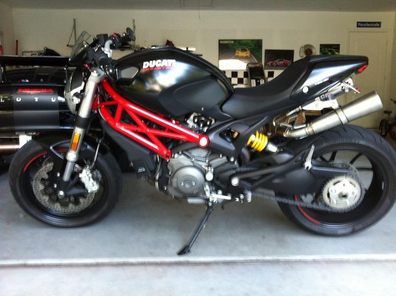Danmotos from eBay installed - Ducati Monster Forums: Ducati Monster