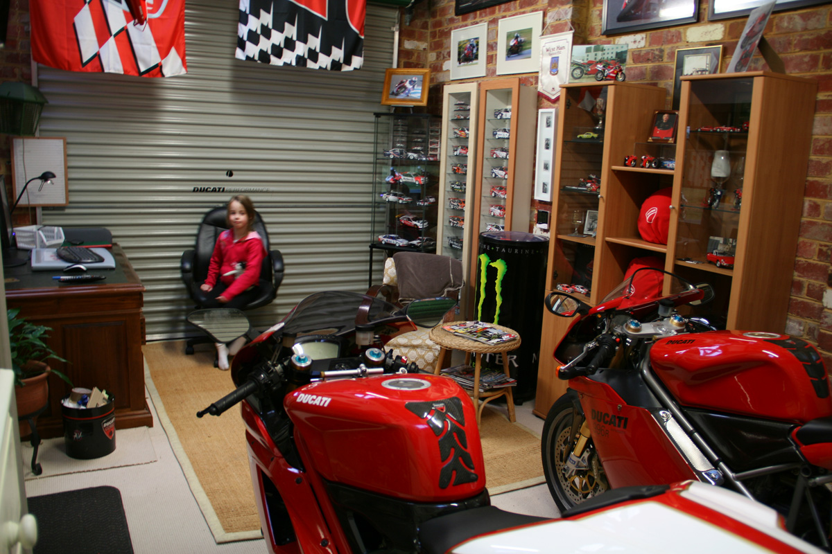 Official Garage Man Cave Pics Page 15 Ducati Org