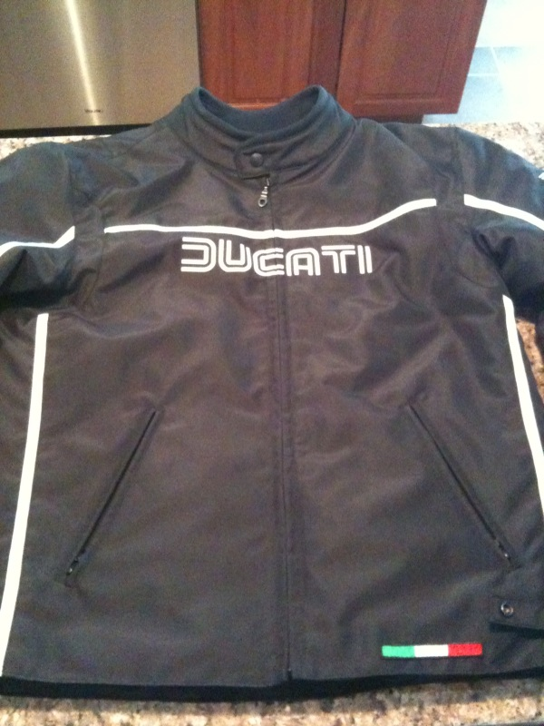 FS Ducati 80's Fabric Jacket (XXXL) - ducati.org forum | the home