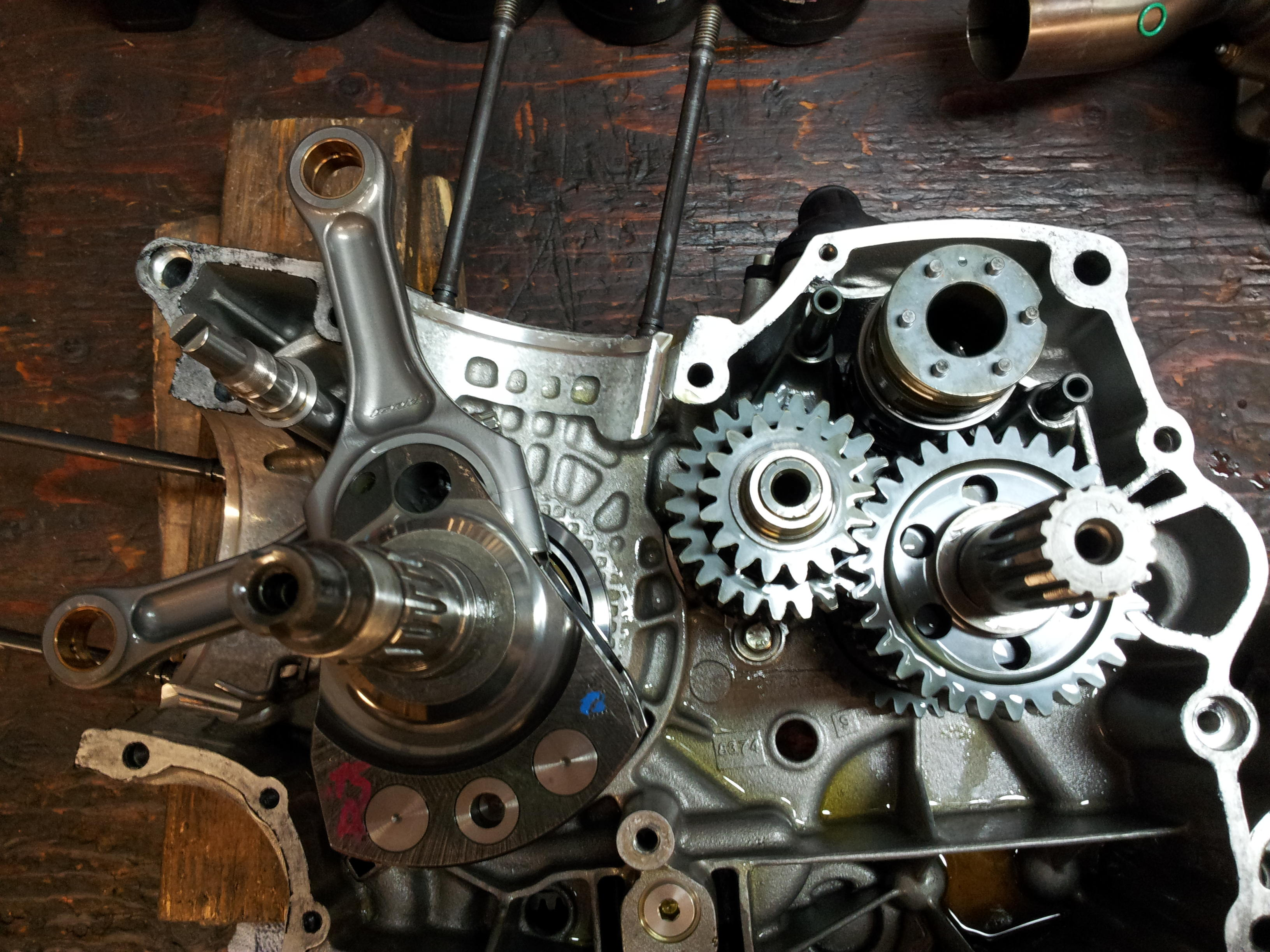 1098 engine tear down and rebuild for dummies - page 5 - ducati