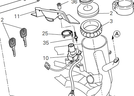 Replace a key by a switch - Page 2 - ducati org forum | the