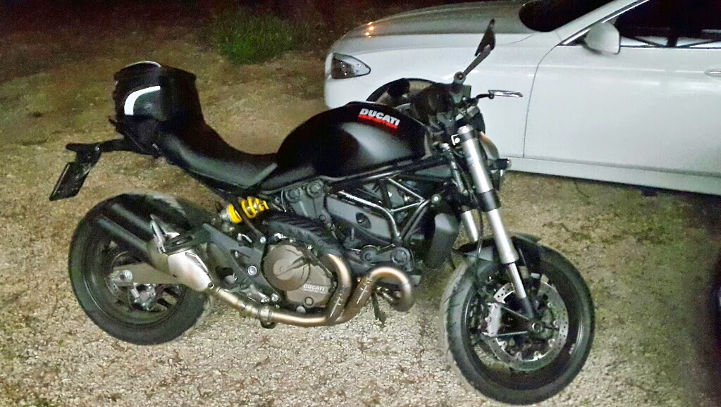 Ducati Monster   Luggage